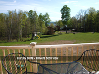 Luxury Suite - Private Deck View