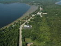 Aerial View of Curtis & part of the Manistique Lakes