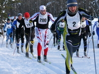 SISU Cross Country Ski Race