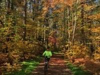 Bike on the newly completed 38-mile bike trail!