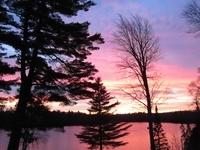 Sunrise over Halfway Lake