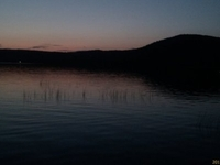 Lac LaBelle at sunset