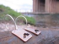 Lake Superior Copper Earrings