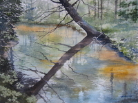 Bill Hamilton's WaterColor Riverbend