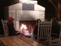 Tahquamenon Falls Brewery & Pub Fireplace - L. Gordon