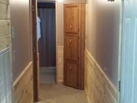 Duplex A hallway to bedrooms completed