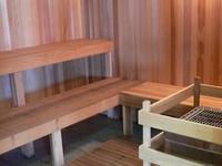Cedar Log Sauna!
