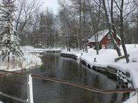 Portage Creek Winter in Curtis