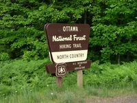 North Country Trail in Western U.P.