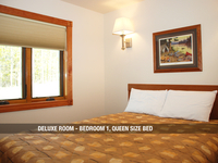 Deluxe Room - Bedroom 1, Queen Bed