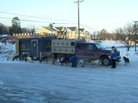 UP200 Dog Sled Racers