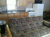 Unit B Kitchen and Dinning area