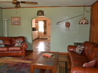 Living room Lake Cabin