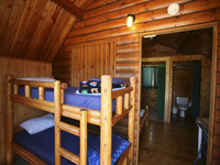 Enjoy a stay in one of our cozy cabins!