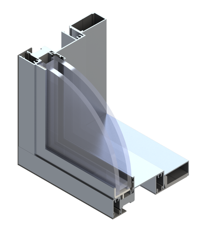 Commercial Aluminum Windows : Fixed commercial aluminum windows wojan window door