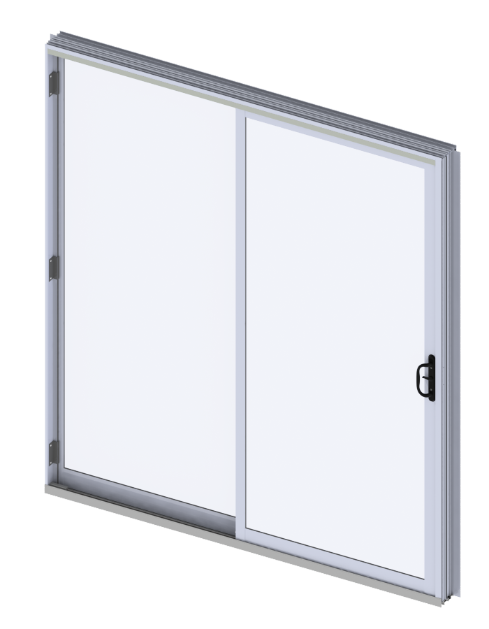 Industrial Metal Sliding Window : Commercial aluminum sliding glass doors wojan window