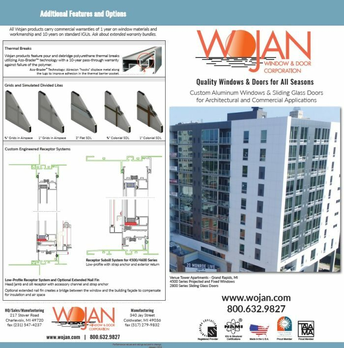 product brochures wojan window door corporation