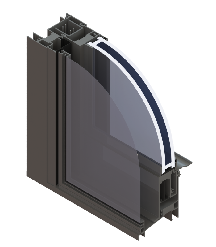Single Hung (side Load) Commercial Aluminum Windows
