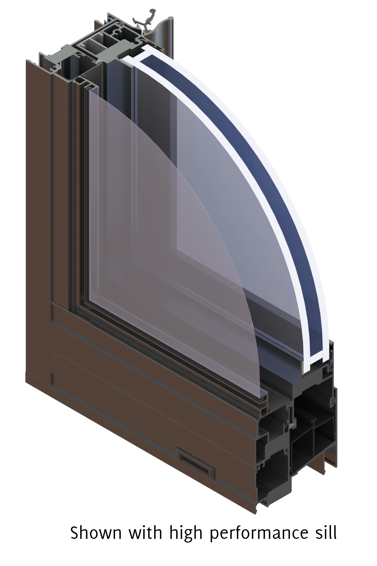 3 188 Quot M 950 Series Horizontal Slider Windows Wojan Window