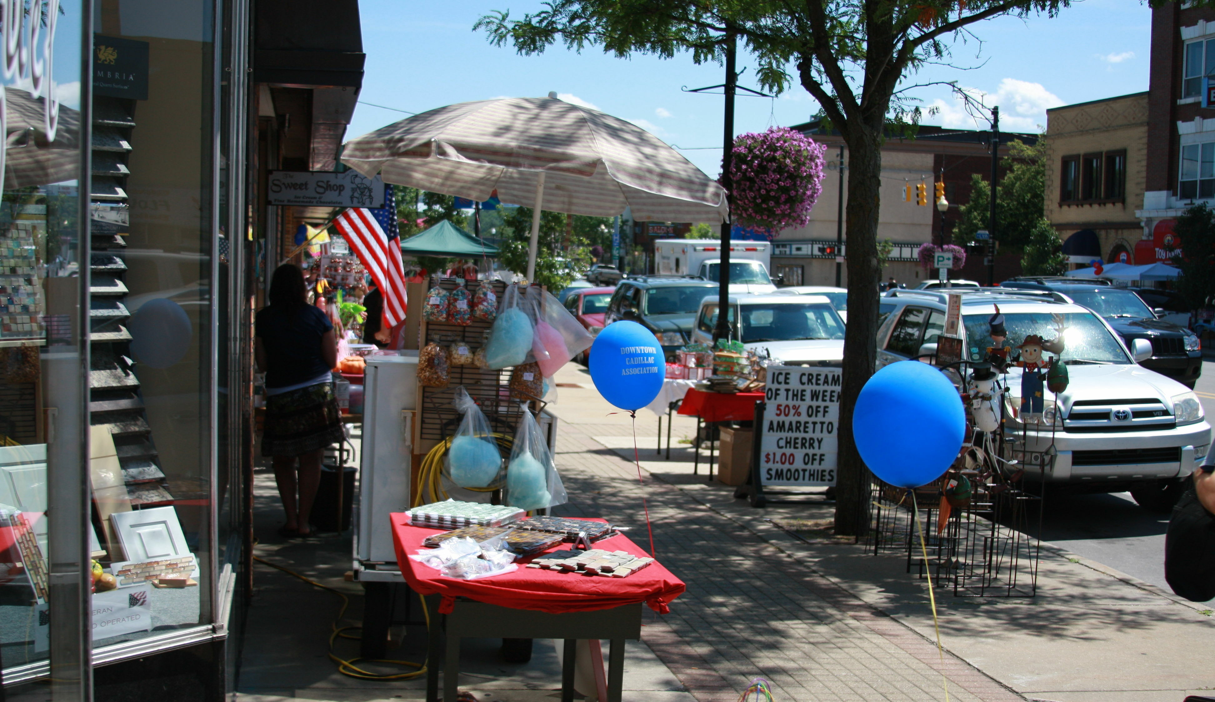 Downtown Cadillac Sidewalk Sales