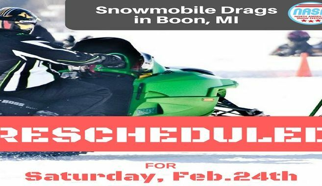 2018 NASF Snowmobile Drag Races