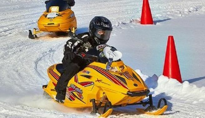 7th Annual Coyote Cup Youth Snowmobile Race