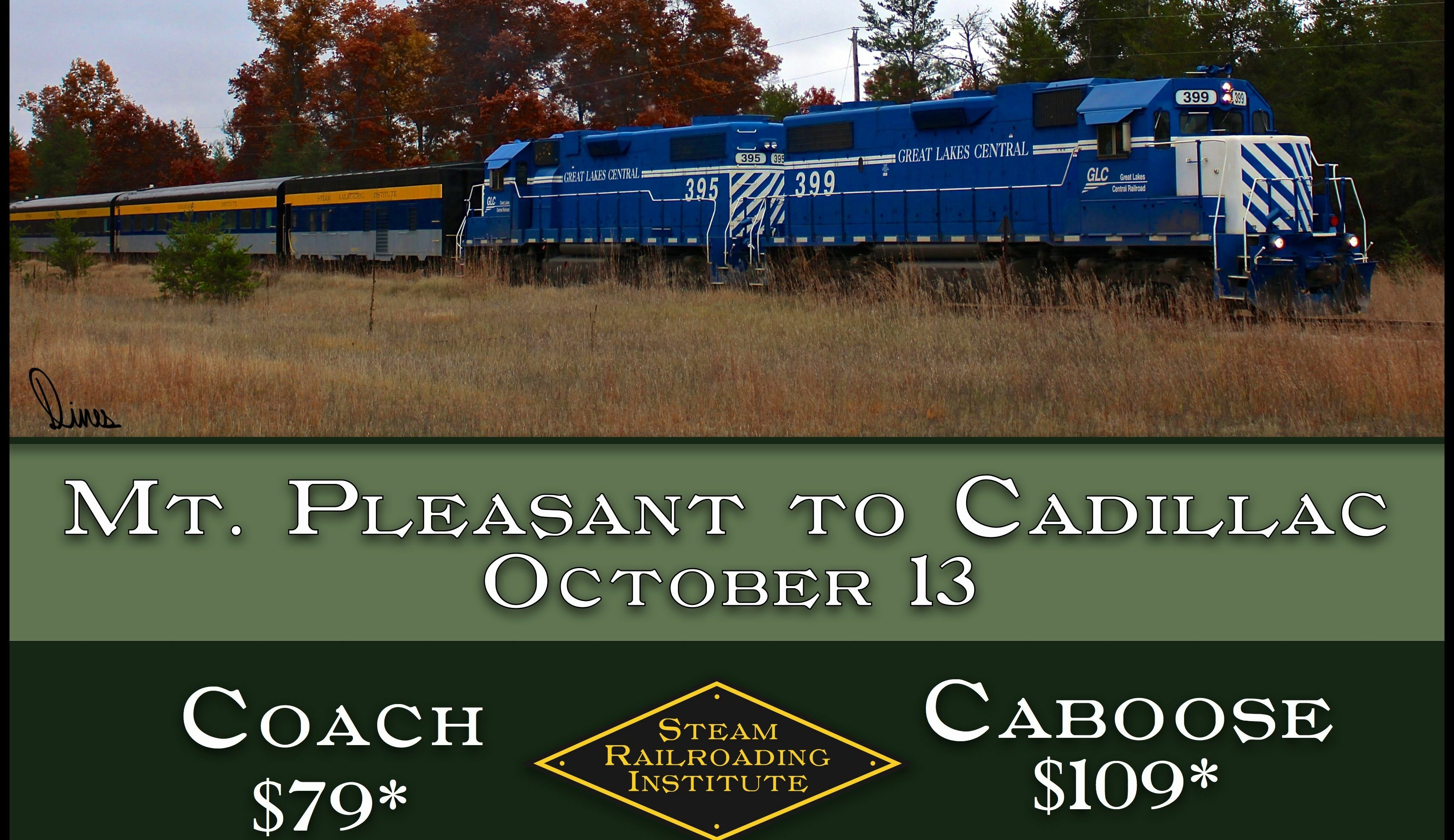 Cadillac Countryside Fall Color Train Excursion