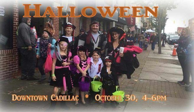 Halloween Downtown Cadillac