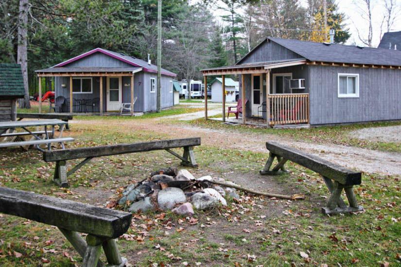 Birchwood Resort Campground Cadillac