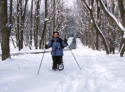 60+ miles of cross country ski and snow shoe trails