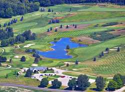 Aerial of our course