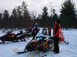 200+ miles of groomed snowmobile trails