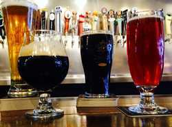 40 Beers on tap, focusing on local, Michigan brews!