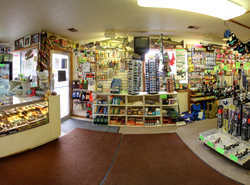 panoramic of the store