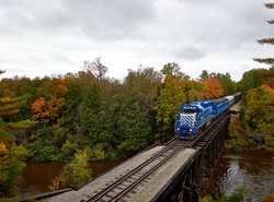 Diesel Train Rides, Saturdays in October, check calendar