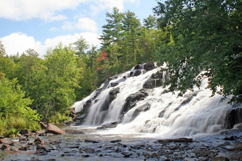 Bond Falls Michigan Map.About Ontonagon County Up Travel