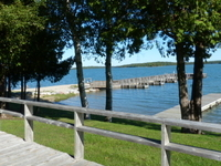 Every cottage has a view at Drummond Island Yacht Haven!