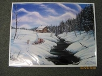 This painting, of an Eliason, is available in the gift shop