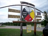 Look for the Dancing Crane in Bay Mills