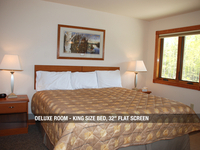 "Deluxe Room - King Bed, 32"" Flat Screen"
