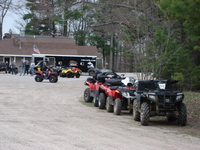 Ride your ATV or snowmobile right onto trail 7!