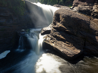 Black River Harbor Scenic Byway Waterfall