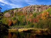 Lake of the Clouds Trail in the Fall, Photo by Rick Varecha