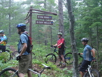 Copper Harbor Mountain Biking