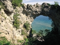 Arch Rock, Mackinac Island State Park