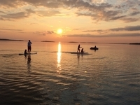 Drummond Island Yacht Haven -- Water Sports and Sunsets
