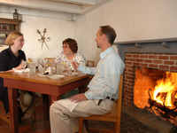 Fort Mackinac's Tea Room Restaurant, Mackinac Island