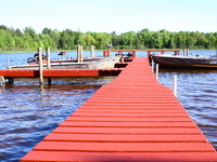 The long dock...relax, soak up some sun and fish...enjoy!