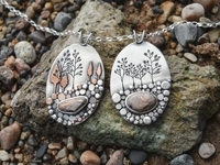 Pebble Beach Wonderland Pendants