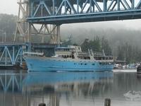 Portage Canal lift bridge